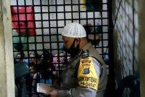 Tahanan polisi di Medan laksanakan takbiran dalam sel