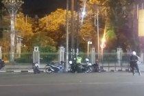 Penutupan akses jalan di Medan mencegah  konvoi malam takbiran