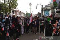 Aliansi Umat Islam Jabar gelar aksi kutuk serangan Israel ke Palestina