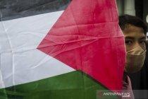 Aksi solidaritas untuk Palestina di Bandung