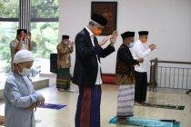 Ganjar: Idul Fitri-Kenaikan Isa Almasih bersamaan itu berkah Indonesia