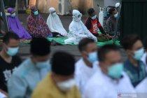 Shalat Idul Fitri di RS Lapangan Indrapura