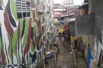 Ratusan rumah di Kampung Aur Medan sudah bersih dari banjir