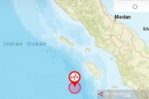 Gempabumi M 7,2 guncang Nias Barat dan tidak berpotensi tsunami