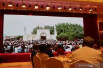 Jamuan Idul Fitri pemuka agama Xinjiang di Beijing