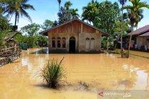 Permukiman warga di 17 desa di Aceh Barat tergenang akibat banjir