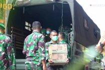 Kasad Andika berikan bingkisan sembako Lebaran untuk prajurit TNI AD