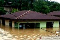 Sejumlah daerah pedalaman Kaltara banjir