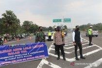 Urai kemacetan gerbang tol Baranangsiang kembali ditutup sementara