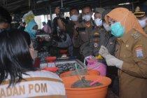 Wakil Wali Kota Palembang sidak temukan makanan berbahaya di pasar