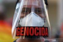 Warga Brazil protes peran Bolsonaro dalam 500.000 kematian COVID-19