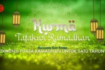 Kurma - Dimensi puasa Ramadhan untuk satu tahun
