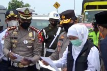 Kapolda Jatim sebut warga sudah penuhi kewajiban perjalanan