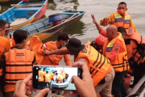Perahu terbalik di Waduk Kedungombo, 6 wisatawan meninggal dunia