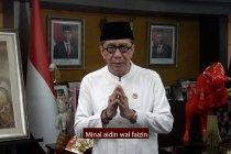Ucapkan selamat Idul Fitri, Menkumham ingatkan disiplin protokol kesehatan