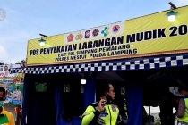 Polres Mesuji putar balik puluhan kendaraan ke arah Palembang