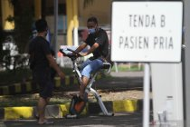 "Sebanyak 179 pasien \""klaster Madura\"" dirawat di RSLI Surabaya"