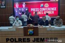 Polda Jatim limpahkan kasus empat kades terlibat narkoba ke Jember