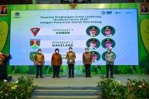 Pemkot Ambon terima penghargaan Nirwasita Tantra