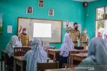 Uji coba pembelajaran tatap muka di Kota Bogor dihentikan