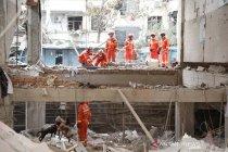 Ledakan pipa gas China tewaskan 25 warga, delapan orang diamankan