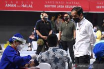 11,8 juta penduduk Indonesia telah selesai jalani vaksinasi COVID-19