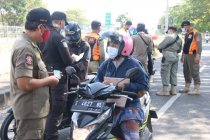 577 orang menghindar saat dilakukan tes cepat antigen di Suramadu