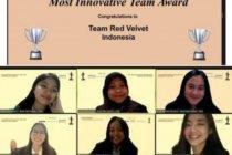 """Tim red velvet FEB UI raih \""""The Best Innovative Team\"""""""