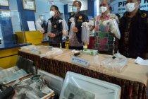 Tim gabungan gagalkan penyelundupan benur Rp33,8 miliar di Palembang
