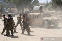 Pasukan Komando Afghanistan bentrok dengan Taliban
