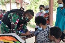 TNI beri layanan kesehatan gratis untuk warga perbatasan RI-PNG