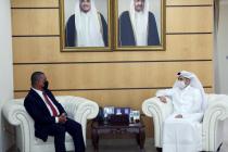 Dubes RI bahas peningkatan kerja sama pendidikan dengan menteri Qatar