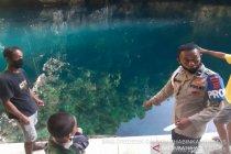 Seorang pengunjung tewas usai berenang di wisata Danau Biru Kolut