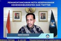 Kemendikbudristek gandeng Twitter perkuat literasi media sosial