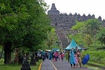 Penutupan zona 1 Candi Borobudur