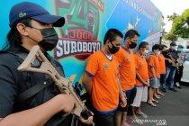 Polrestabes Surabaya ungkap peredaran 20,4 kg sabu dari China