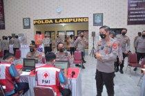 Polda Lampung siap melaksanakan vaksinasi massal di 345 lokasi
