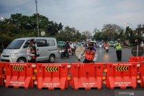 Penutupan akses jalan menuju kota Bandung