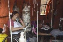 Tenda darurat untuk perawatan pasien COVID-19 di RSUD Bekasi