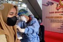 Polres Metro Tangerang sasar vaksinasi hingga ke ruang publik