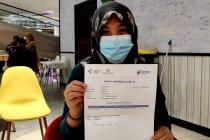 Ribuan vaksin sinovac tersalurkan di kota Pangkalpinang
