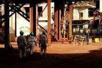 Pasca-kebakaran, smelter IWIP kembali beroperasi