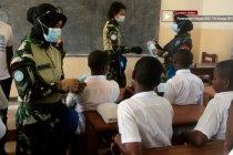 Wanita TNI sebar perdamaian di Kongo melalui edukasi dan permainan
