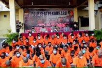 Polresta berantas aksi premanisme dan pungli di Kota Pekanbaru