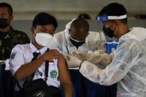 Penerima vaksin COVID-19 dosis pertama capai 44,4 juta orang