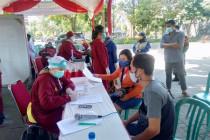 Pemkot Kediri manfaatkan layanan E-Tiket saat vaksinasi COVID-19
