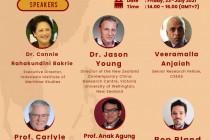 CSEAS gelar webinar terkait potensi ancaman dalam hegemoni China