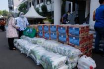 Bantuan COVID-19 di Surabaya siap didistribusikan ke warga terdampak