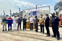 Indonesia terima 300 konsentrator, 100 MT oksigen medis dari India