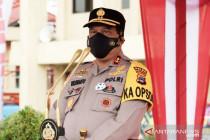 Kapolda Kalsel ingatkan petugas tetap humanis saat penegakan PPKM
